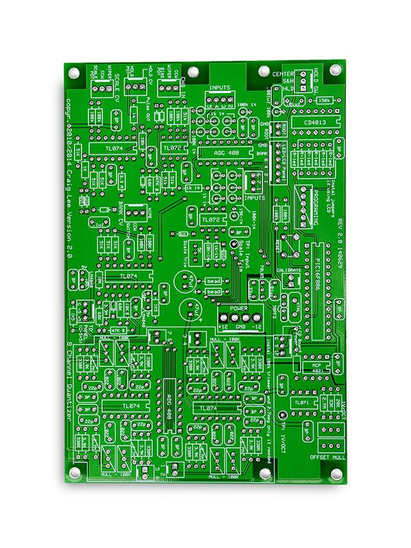 4U 8 Channel Quantizer PCB