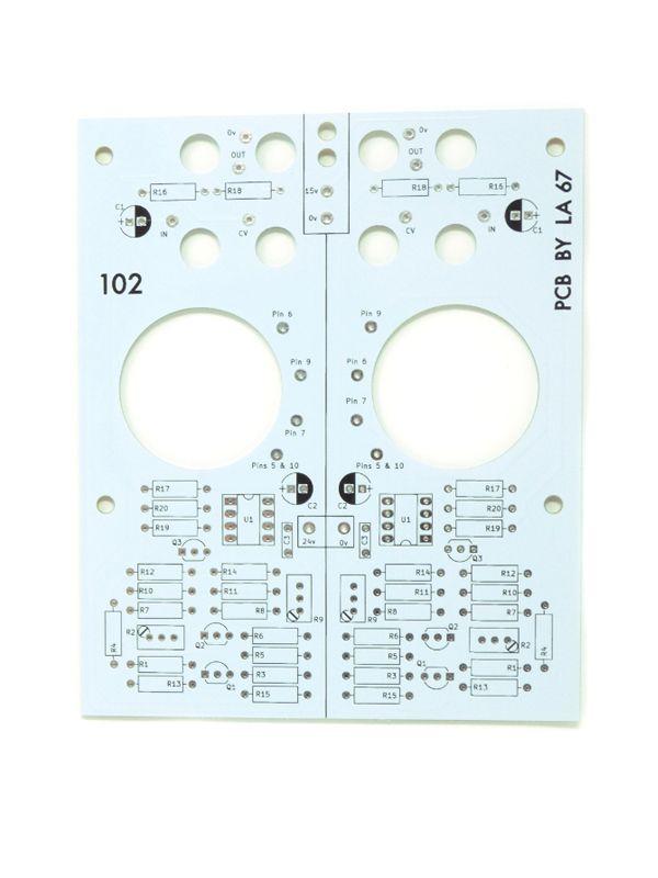 L67 102 Dual Stereo Locator PCB/Panel