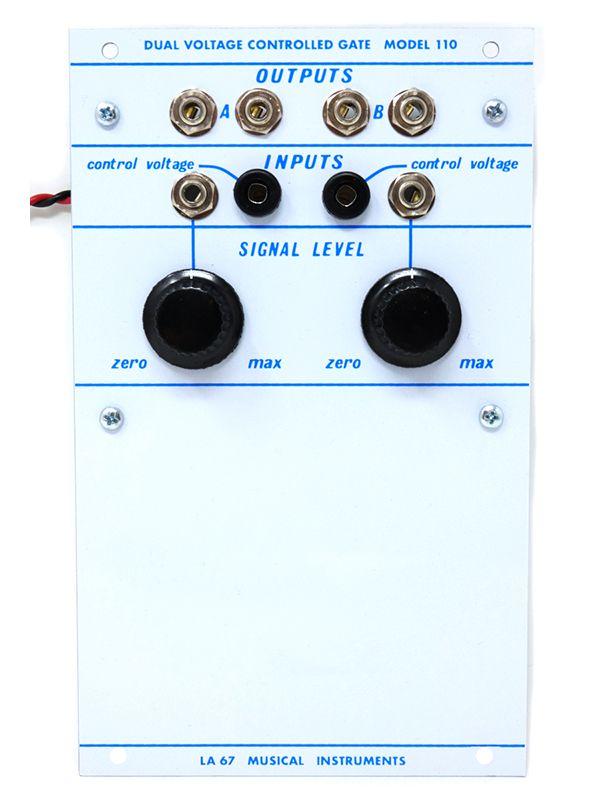110 - Dual Voltage Controlled Gate | La Sesenta y Siete LA 67