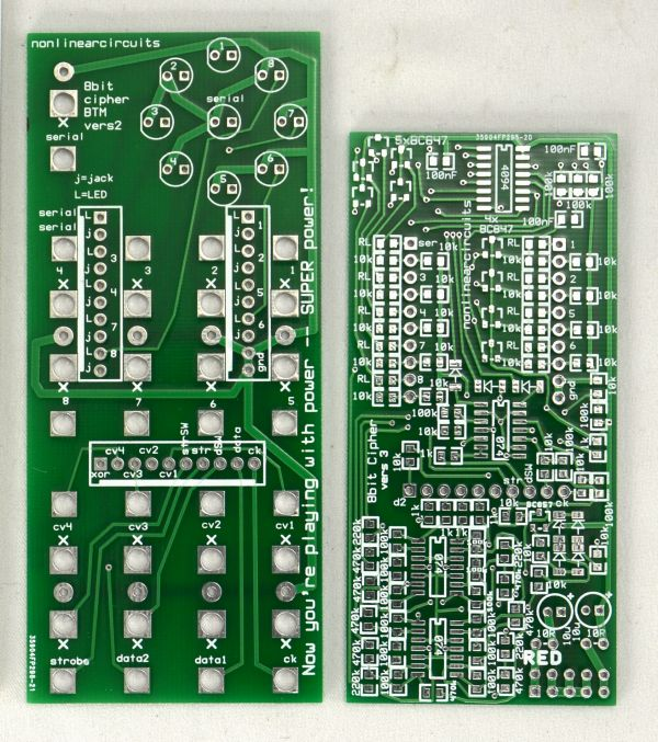 NLC 8 Bit Cipher PCB Set
