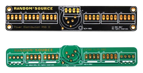 Random Source Boat Power Distribution PCB