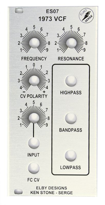 ES07 - 1973 Serge VCF Full Kit | Elby