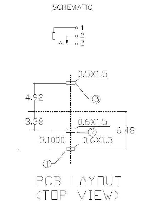 PJ301M-12 Switching Mono 3.5mm Thonkiconn Jacks