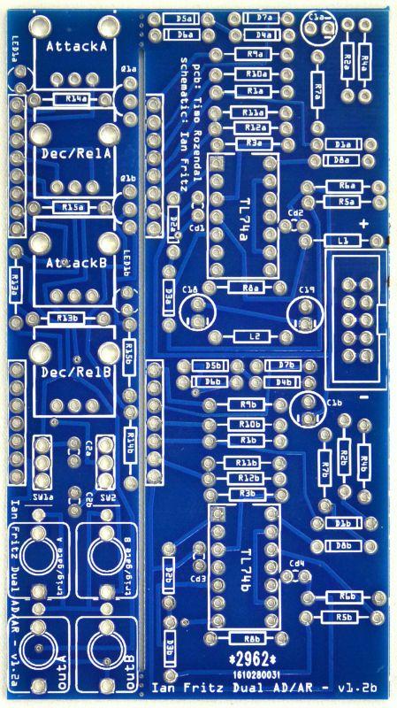 Ian Fritz 2xAD/AR PCB