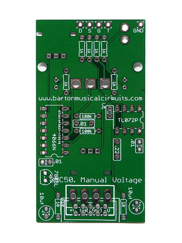 BMC050 - Barton Manual Voltages PCB