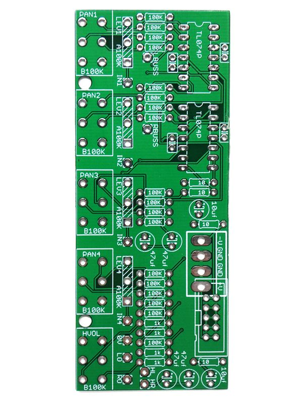 BMC054 - Stereo Outs PCB