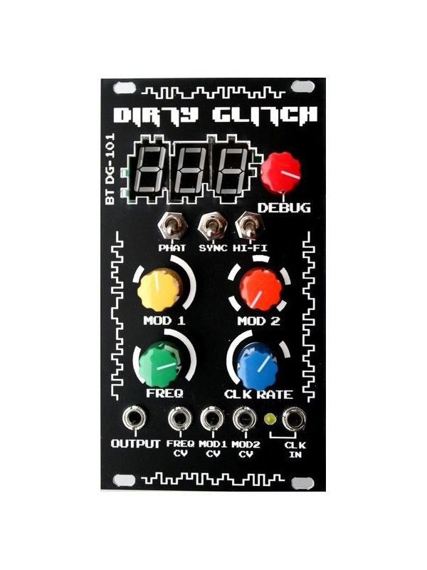Dirty Glitch - Grain Table VCO Kit | Beast-Tek