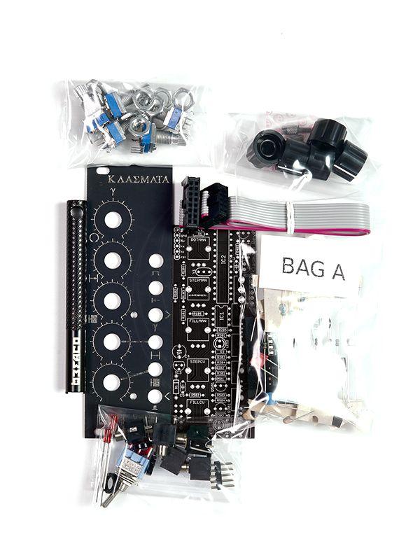 Klasmata Euclidean Sequencer [Befaco Edition] Full DIY Kit | Rebel Technology