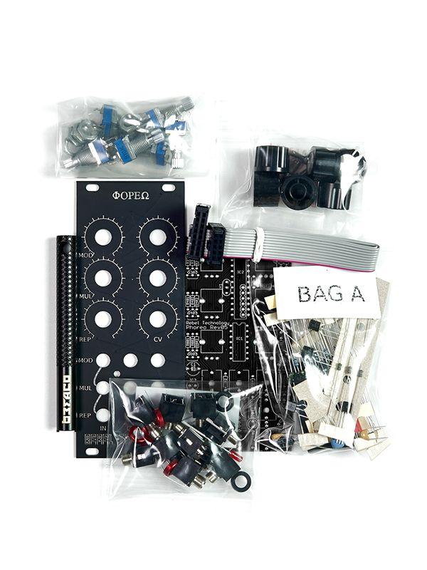 Phoreo Triple Function Processor [Befaco Edition] Full DIY Kit   Rebel Technology