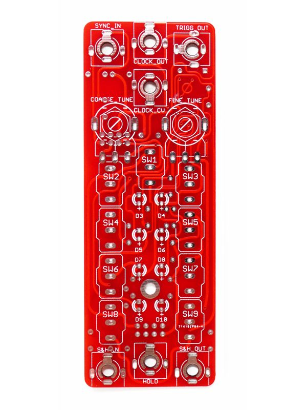 Sampling Modulator V1.6 PCB