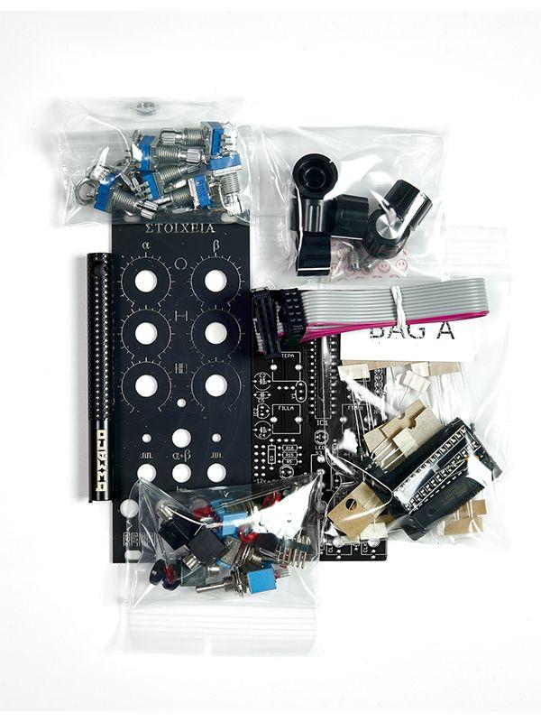 Stoicheia Dual Euclidean Sequencer [Befaco Edition] Full DIY Kit | Rebel Technology