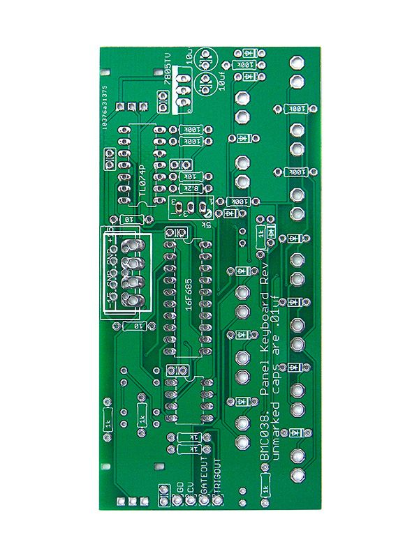 BMC038 - Panel Keyboard PCB