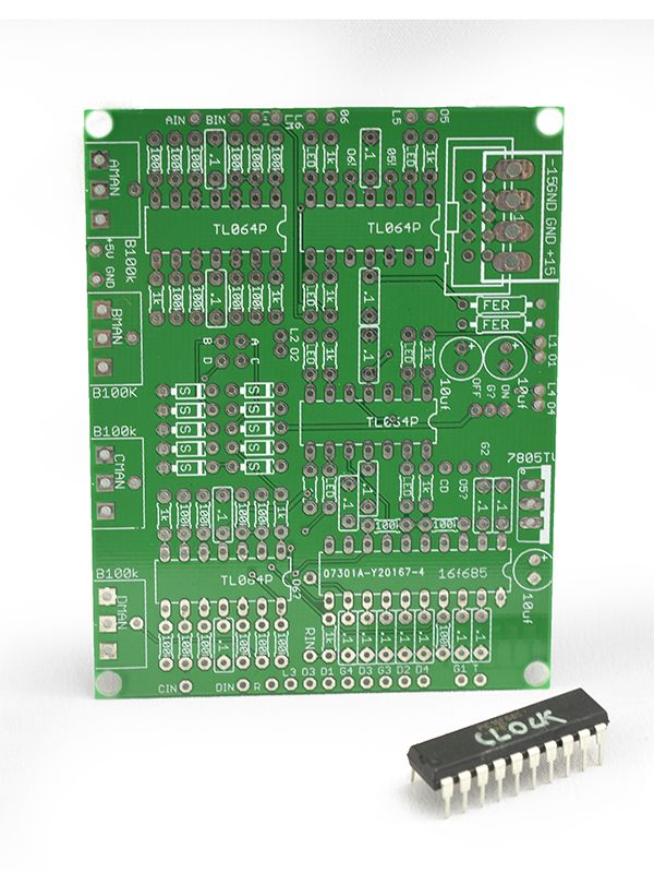 Barton Voltage Controlled Clock/Divider PCB - BMC004
