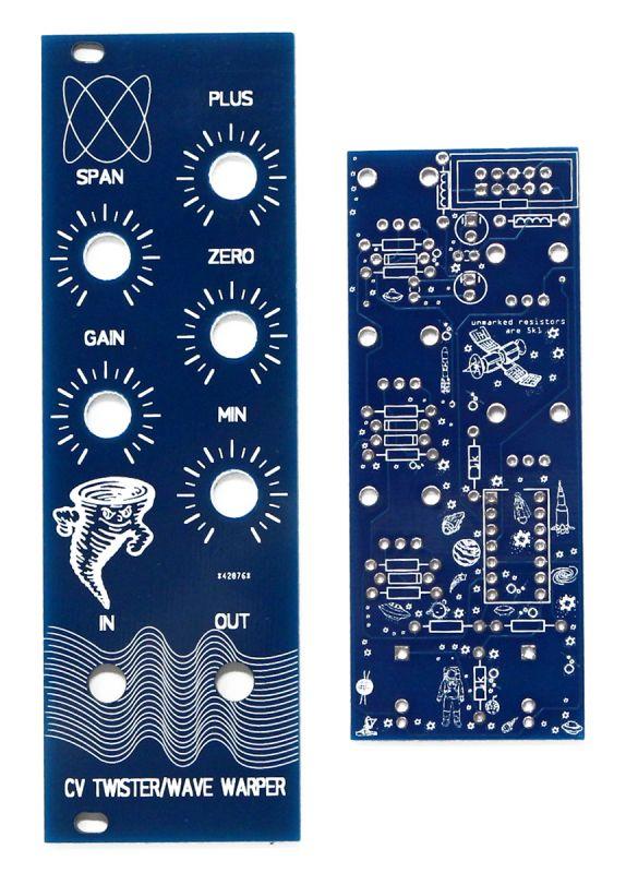 Bomono Modular CV Twister PCB & Panel back