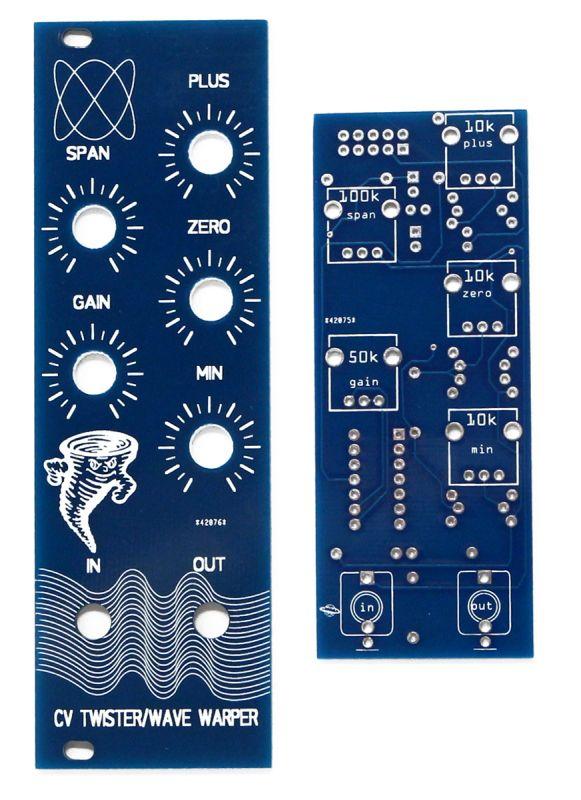Bomono Modular CV Twister PCB & Panel front