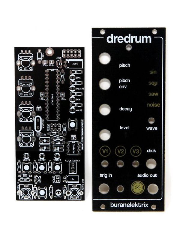 DREDRUM - PCB/Panel   Buran Elektrix