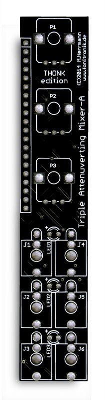 Fonitronik Cascade Component PCB