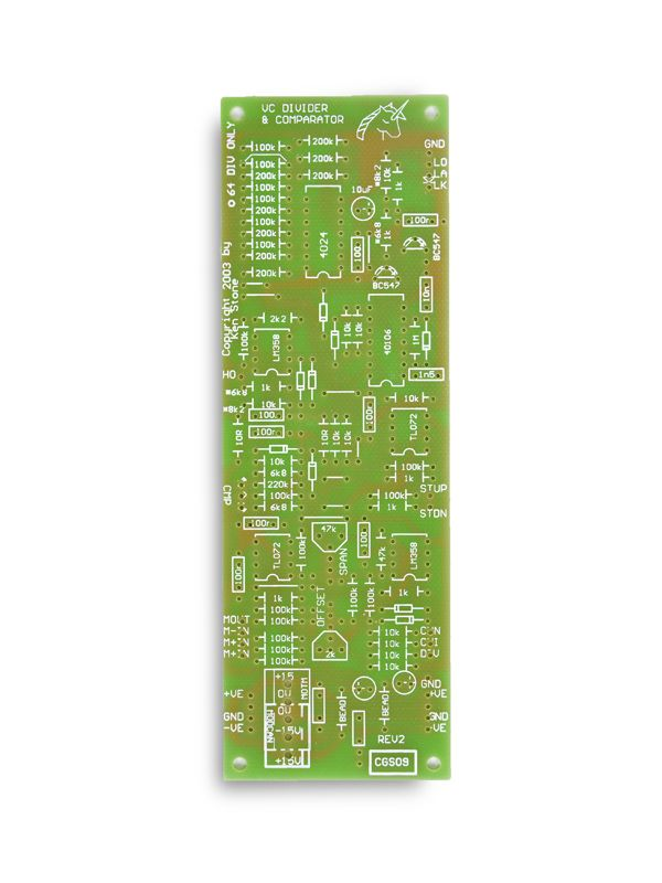 CGS09 - VC Divider PCB