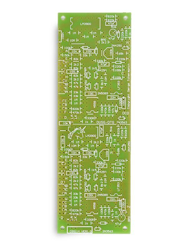 CGS114 - Serge Dual Universal Slope Generator (DUSG) PCB   Cat Girl Synth