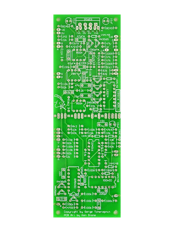 CGS116 - Serge Extended ADSR PCB