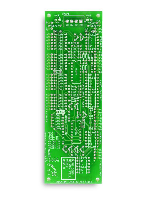 CGS121 - Quad Comparator/Memory Cell PCB