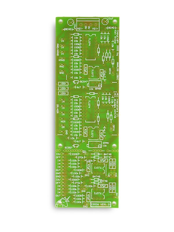 CGS26 - Analog Logic PCB