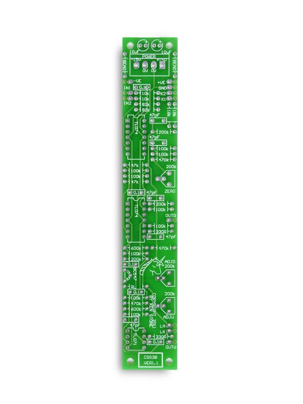 CGS38 - Saw Pitch Shifter PCB