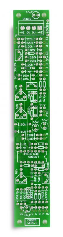 CGS85 - Triple Waveshaper PCB