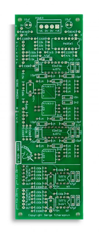 CGS90 Phaser PCB
