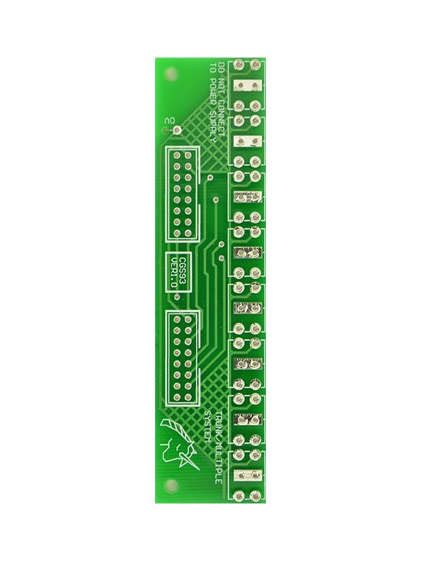 CGS093 - Trunk Line PCB/Panel | Cat Girl Synth