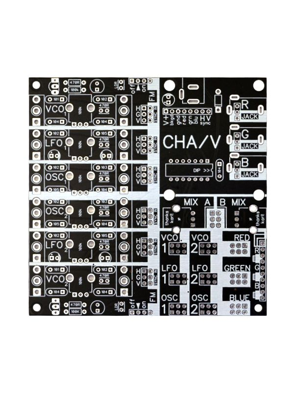 CHA/V 3.0 - Patchable Audio Video Synthesizer   CHA/V Designs