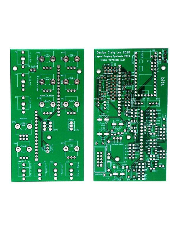 Bits - 12bit Bit Crusher Euro PCB / Panel