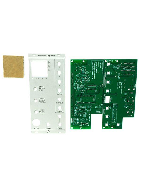 4U Euclidean Sequencer PCB / Panel