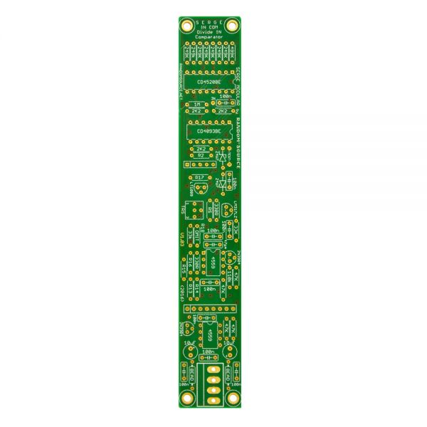 Serge Divide And Compare PCB 3