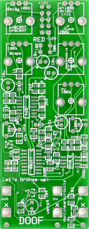NLC Doof PCB
