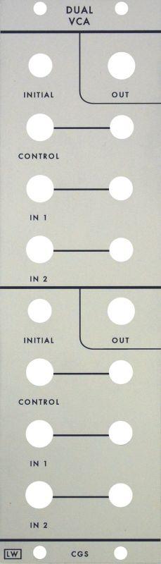 Loudest Warning CGS Dual VGA Panel