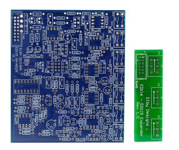 Elby Extended SH/Noise DIY Synthesizer PCB