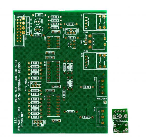 Ken Stone / Elby Designs Mangler DIY Synth PCB