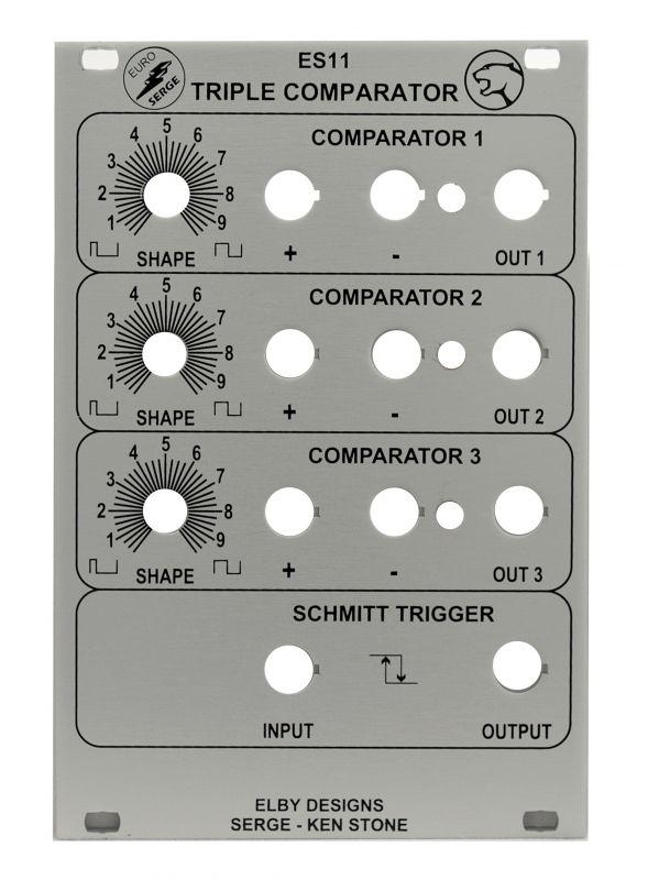 DIY Serge Triple Comparator - Synth Panel