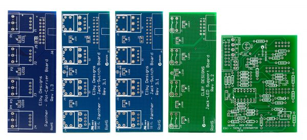 Elby / Serge Triple Comparator - DIY Synthesizer PCB's