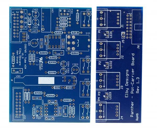 DIY Tube Synth VCA - PCB