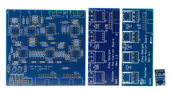 Elby Designs / Ian Fritz Wavolver Synth DIY PCB