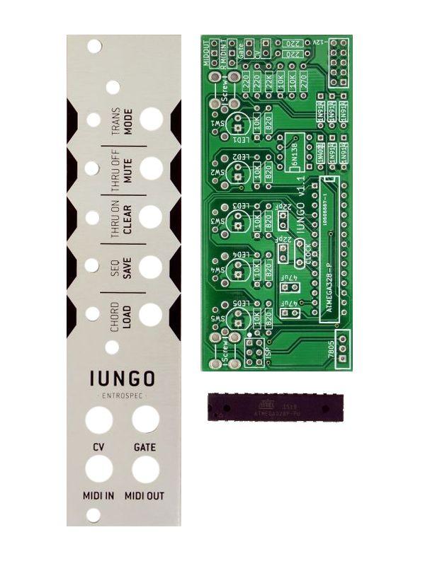 Iungo - CV to Midi PCB/Panel | Entrospec