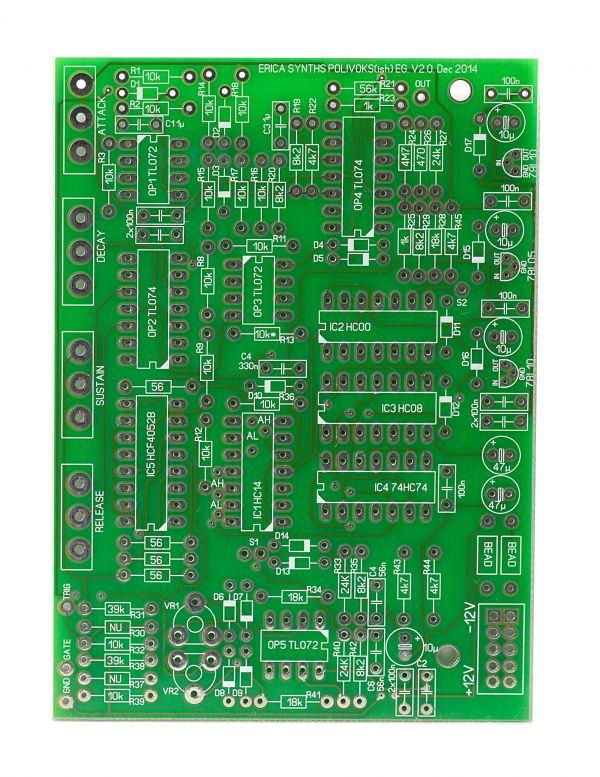 Erica Synths Polivoks ADSR DIY Synth PCB