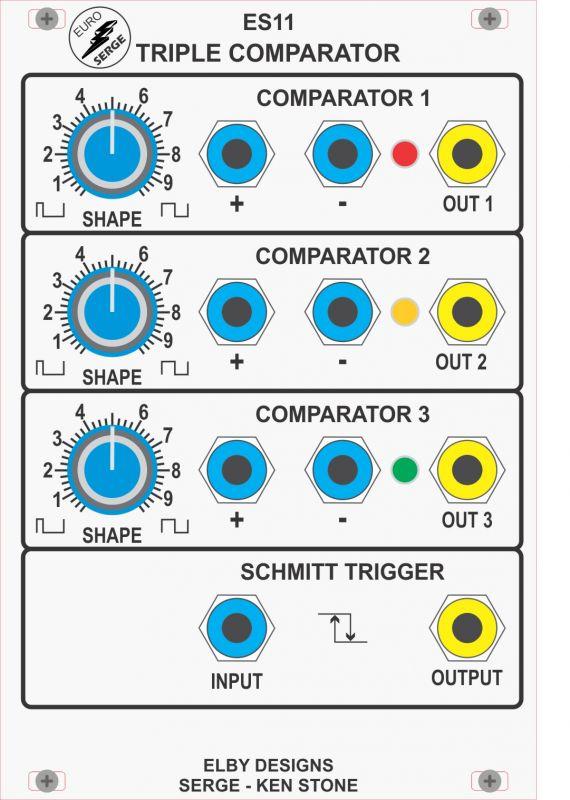 triple comparator diy kit