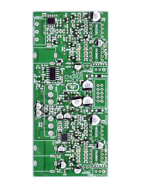 106 Chorus - PCB/Panel (Slim SMD Variant) | Feedback Modules