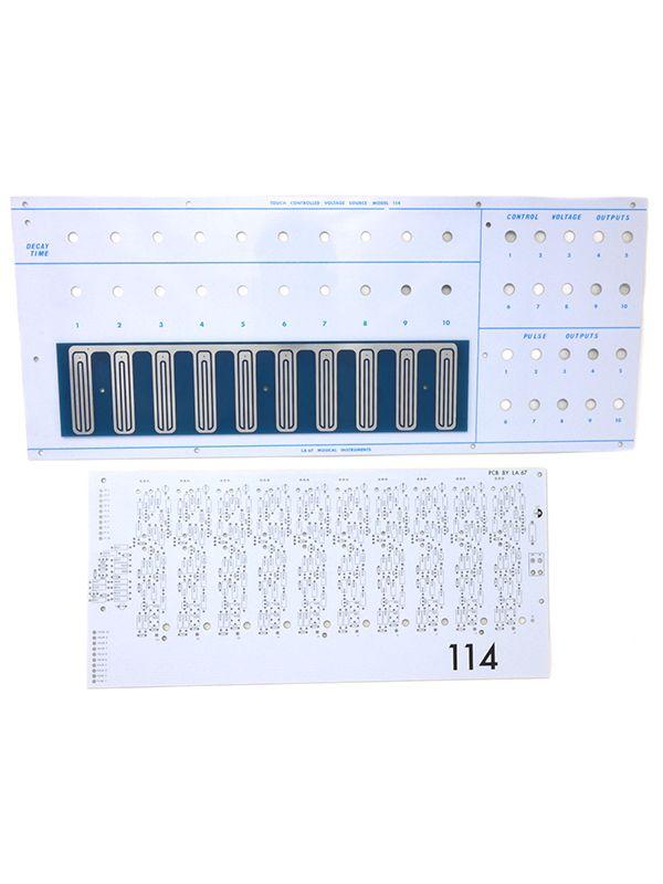 Buchla La Sesenta y Siete LA 67 114 Touch Controlled Voltage Source PCB Panel