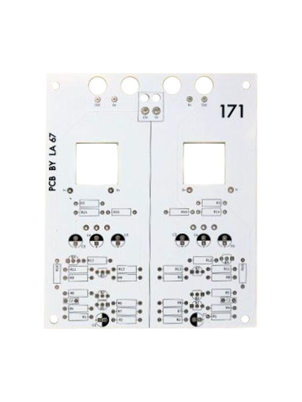 171 - Dual Instrument Pre-Amplifier PCB / Panel   La67