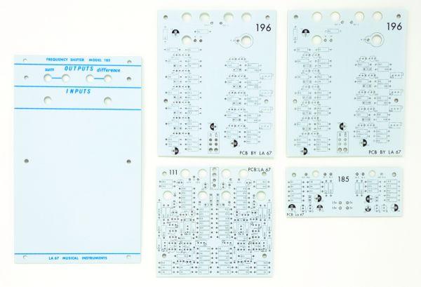 Buchla La Sesenta y Siete LA 67185 Frequency Shifter PCB Panel