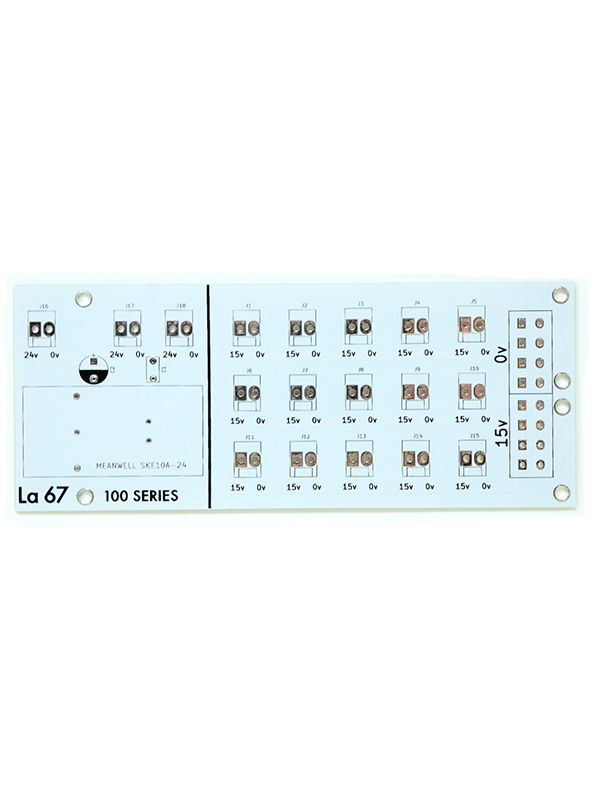 Buchla La Sesenta y Siete LA 67  Power Distribution PCB